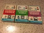 The Book Of Knowledge Vol 1 2 3 Vintage Flash And Quiz Card Sets