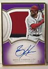 Bryce Harper 2018 Topps Definitive Framed Autograph 3 Color Patch # 2 5