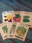 Primitive Vintage Antique SEED PACKS for Garden collection