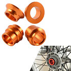 Front Rear Wheel Spacer Kit For KTM 125 150 200 250 300 350 400 440 450 SX SX-F