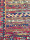 Exquisite Antique Persian Afshar Suzani Kilim Rug - Hand Made Rug 4x6 ft Cr.1920