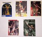 Dennis Rodman lot of 5 Basketball cards Pistons Bulls Spurs Fleer Upper Deck NBA
