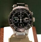 IWC MEN'S GST AQUATIMER WATCH REF. IW3707 STAINLESS STEEL DAY-DATE