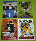 The Smoky Collection | NFL Football A In Person Autograph Auto | You Pick