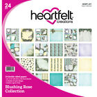 Heartfelt Creations Double Sided Paper Pad 12X12 24 Pkg Blushing Rose 12 Desi
