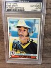 1979 OZZIE SMITH AUTOGRAPHED ROOKIE CARD (PSA AUTHENTIC) TOPPS #116.