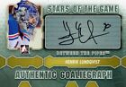 2012-13 ITG Between the Pipes Henrik Lundqvist Stars of The Game Auto SP