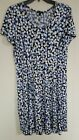 Sami and Jo Polka dot easy flowing pull over dress Multi Color Choose Size NEW