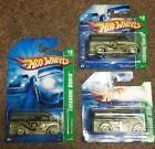HOT WHEELS 2006 DAIRY DELIVERY TREASURE HUNT 3 CAR LOT REAL RIDERS