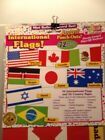 International Flags Accent Punch Outs Teachers Friend TF 3311