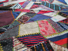 Antique / Vintage Crazy Quilt Block or Pillow Top Embroidered 20