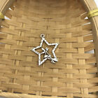 5 pcs Tibet silver Star Fairy Charms 25x28mm DIY Jewellery Making crafts