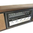 Vintage Magnavox Solid State Radio Boombox Faux Wood Works TESTED