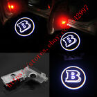 2x Benz B Logo Ghost LED laser Projector door lights For Mercedes CLS CLA C207