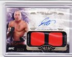 2017 Topps UFC Knockout GEORGES ST-PIERRE Auto Dual Relic 06 15 Tier One