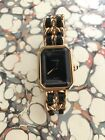 Chanel Vintage Watch Gold Plated premier Mademoiselle watch