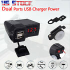 Dual Ports USB Charger For Benelli Can-Am Lifan Indian All American Choppers US