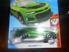 2018 Hot Wheels Super Treasure Hunt 2017 CAMARO ZL1 on RED Rim Card