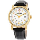 Wenger Urban Classic White Dial Leather Strap Men's Watch 01.1041.110