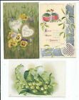 Lot of 18 Postcards Greetings Good Luck Best Wishes