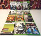 Xbox 360 Games Lot of (12) Games Complete Assasins Creed 1, 2 & 3 + Fully Tested