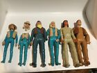 Vinntage Marx Johnny West Action Figures and lot of accessories 6 FIGURES!