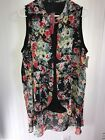Womans spring summer top blouse size xL
