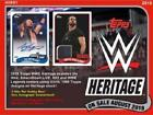 2018 Topps WWE Heritage Wrestling (08 01) Sealed Hobby Box 24 Packs 2 HITS