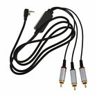 AV TV Kabel Cinch Audio Video Kabel fuer Sony PSP Slim 2000 3000 Fernseher R5W2