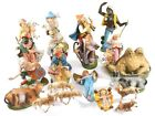20 VTG Nativity Scene Figurines Animals Shepherds Wisemen Jesus XMAS Italy Set