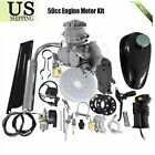 50cc Bike Motorized Motor Petrol Gas Engine Kit 2 Stroke Air cooling DIY Bike MA