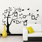 Family Tree Wall Decal Sticker Removable Aesthetic Photo Picture Frame Sticker