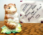 Beswick Beatrix Potter Timmy Willie BP-2a Gold Oval Rare Copyright above F Warne