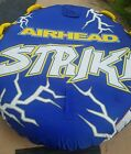 Airhead Strike 2 Single Rider Inflatable Towable Tube With Boat Rope