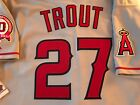 2011 Mike Trout Los Angeles Angels Authentic Majestic Away Jersey Size 48 NWT