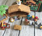 FISHER PRICE LITTLE PEOPLE CHRISTMAS STORY NATIVITY LIGHTS  SOUNDS SET