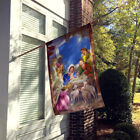 The Wise Men at the Nativity Christmas Flag Canvas House Size