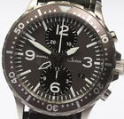 SINN DIAPAL Automatic Chronograph Stainless Leather Brown Dial 43M Mens Watch