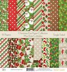 Pattern Paper Pack Christmas Eve Scrapbook Card Stock Single Sided 12x12