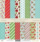 Pattern Paper Pack Oh What Fun Scrapbook Card Stock Single Sided 12x12
