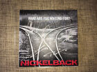 NICKELBACK - WHAT ARE YOU WAITING FOR? - 1 TRACK ADVANCE HAND SIGNED DJ PROMO