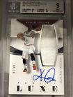 2014-15 Panini Luxe Kyrie Irving Relic Auto BGS 9 Auto 10 07 35