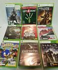 Lot of 9 x box 360 games XBOX Fallout Destiny Halo Call of Duty Red Dead Redempt