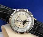 Blancpain 18k White Gold Villeret Moonphase Triple Calendar Box