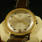 Vintage Rare 1970's Timex Marlin men's watch ,with date , hand winding