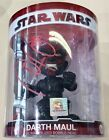 STAR WARS DARTH MAUL BOBBLE HEAD FIGURE SIGNED BY RAY PARK WITH LOA
