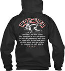Premium Wrestler - (restter) One Who Trains Like A Standard College Hoodie
