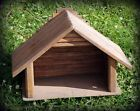 Vintage Wooden Manger Stable Handmade For Nativity Decor 19 Excellent Condition