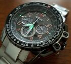 Seiko Sportura Prospex Solar Lumibrite Chrono Slate Mens Flight Pilot Dive Watch
