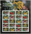US NATURE 2017 SCOTT 5228 5232 PROTECT POLLINATORS 20 MNHFVF FOREVER STAMP SHEET